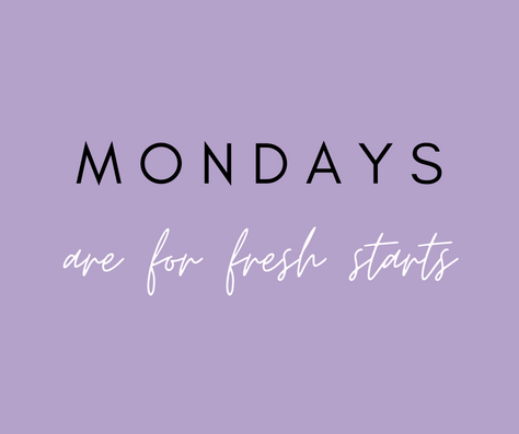 Mondays Don't Suck!