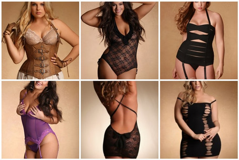 the latest & greatest in plus size lingerie