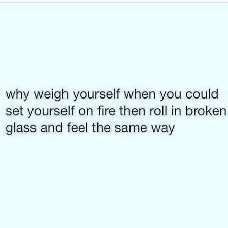 Why Worry About Your Weight?