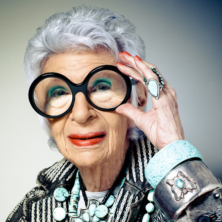 10 Life lessons from style icon Iris Apfel