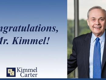 Founding Partner Morton Kimmel Receives Lifetime Achievement Award