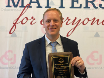 Kimmel Carter Honored by the Delaware Combined Campaign for Justice