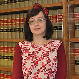 Amy Handling, legal assistant to Jonathan O'Neill. Amy specializes in workers' comp and car accidents.