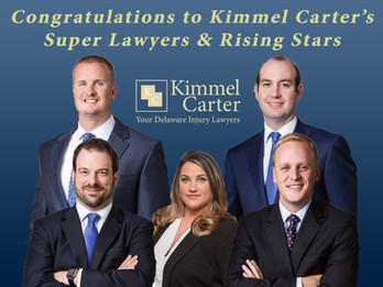 Kimmel Carter Celebrates Five Super Lawyers 2020