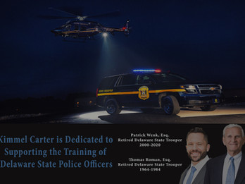 Kimmel Carter Contributes to the Training of Delaware State Police