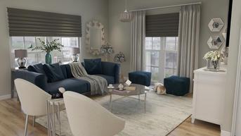 Classic Living Room Render