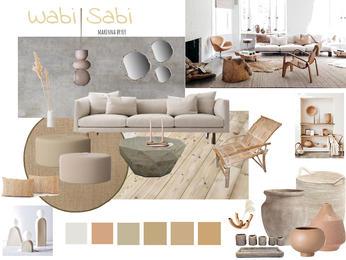 Wabi Sabi Inspired Concept Board