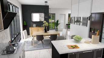 Kitchen & Dining Combo