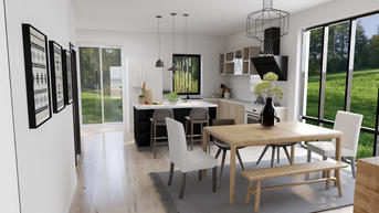 Dining & Kitchen Combo