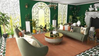 Bold Sunroom