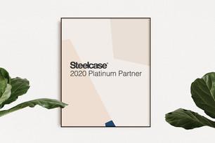 STEELCASE PLATINUM PARTNER 2020