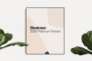 STEELCASE PLATINUM PARTNER 2020