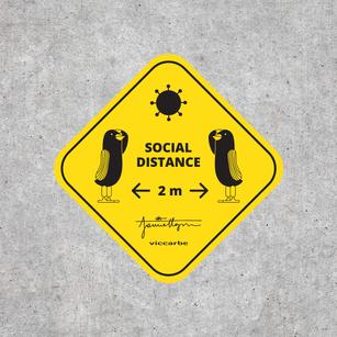 SOCIAL DISTANCE SIGNAGE