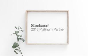 STEELCASE PLATINUM PARTNER 2018