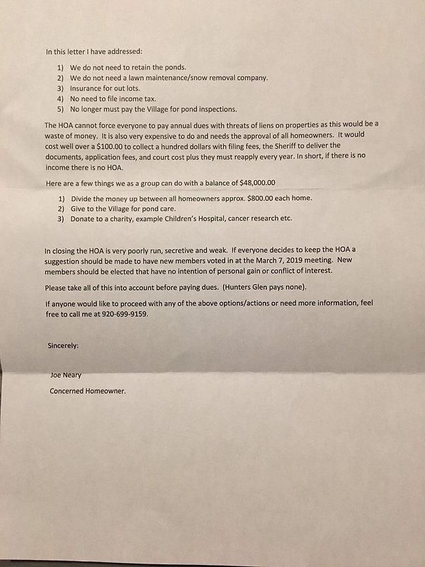 President's Letter | black-walnut-estates