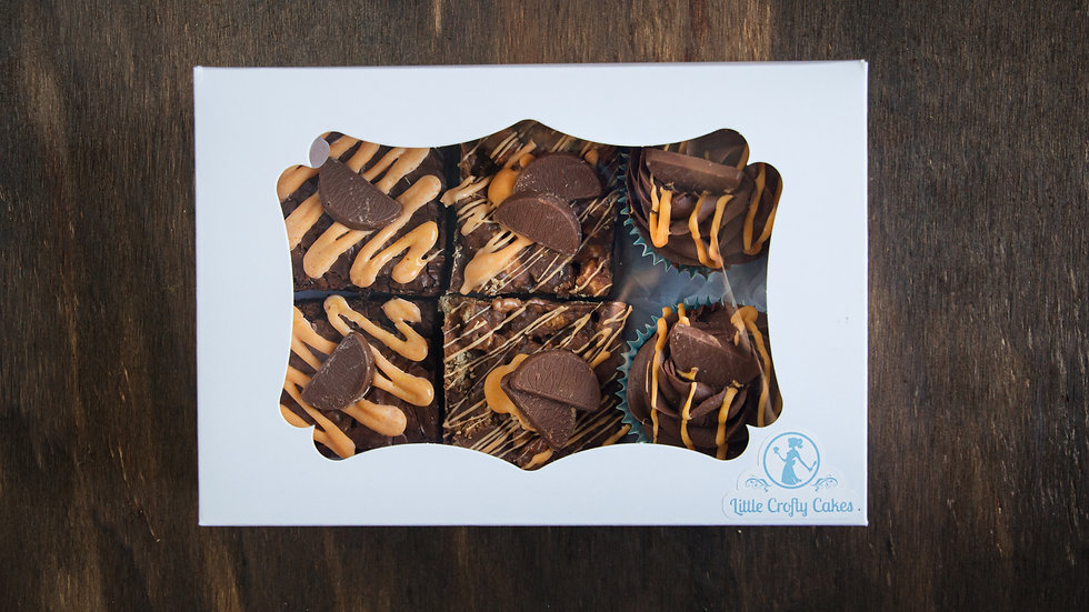 Chocolate orange selection box