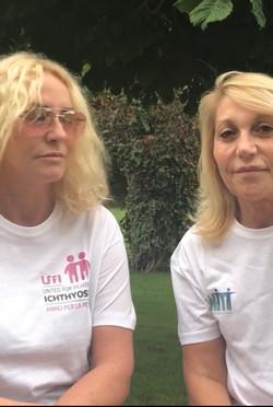 Antonella Clerici e Evelina Flachi