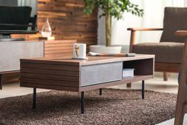 BELL COFFEE TABLE ( Walnut WA)