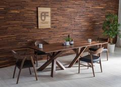 CROSS TABLE (Black walnut WA)