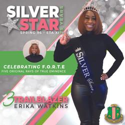 AKA Silver Star Erica