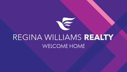 Regina Williams Realty business card
