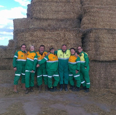 Crew pic in the Weetabix factory yard