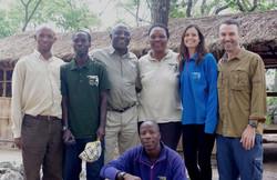 Shadrack Kamenya, Emmanuel Mtiti (Jane Goodall Inst - 2013)