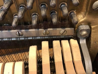 Stuff You See on Old Pianos...