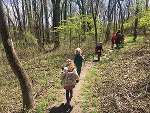 children hike on spring trail.jpg
