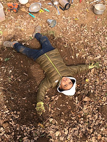 Ollie In the Dirt.JPG