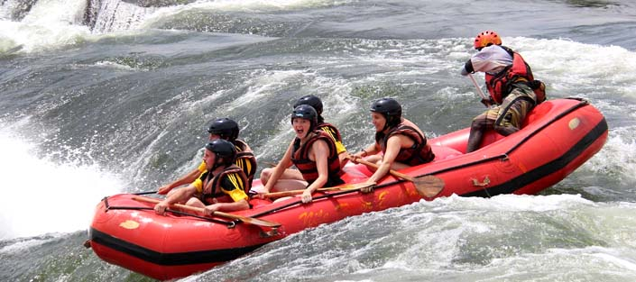 white-water-rafting-Nile-river