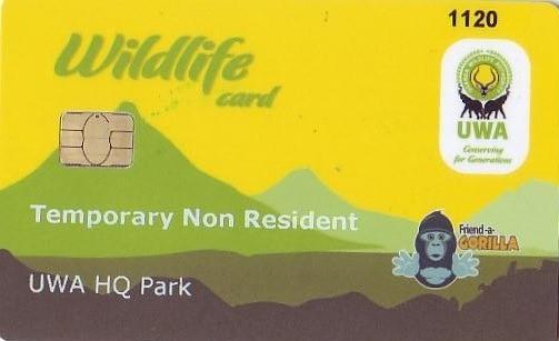 Gorilla Permit Card