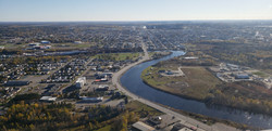 Overview of Timmins_Looking East through