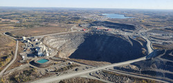 Dome Mine Pit- Newmont Goldcorp.
