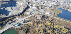 Overview of Hollinger Mine Pit - Newmont