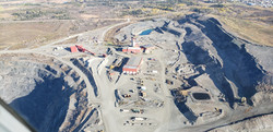 Dome Mine Pit- Newmont Goldcorp..