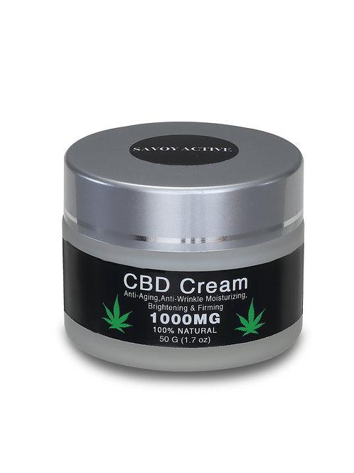 CBD Cream - Premium Grade - 1000MG CBD - 100% Natural - 50g