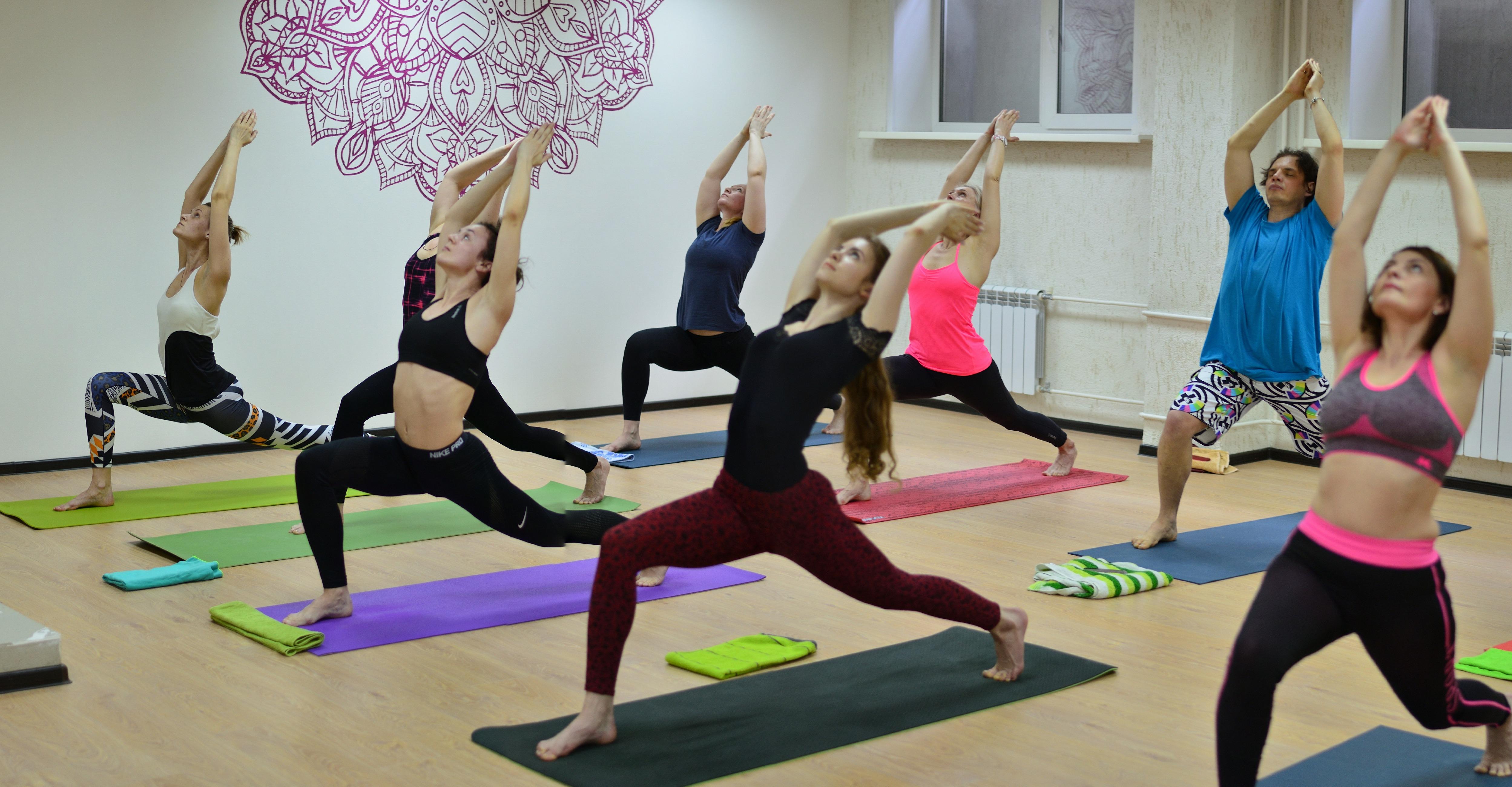 студия йоги й зал новосибирск