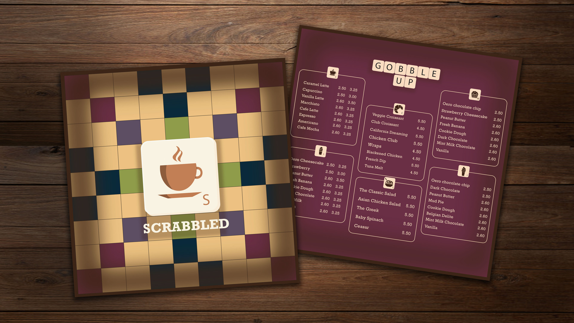 Scrabbled | Boardgame Cafe