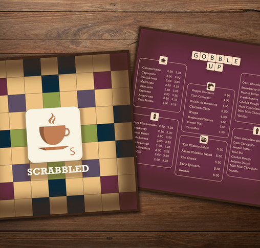 Scrabbled | Boardgame Cafe