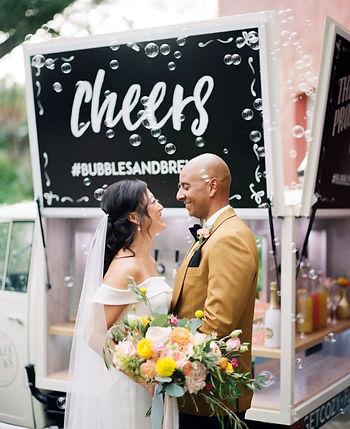Kelly Kennedy Weddings - Cheers Bubbles