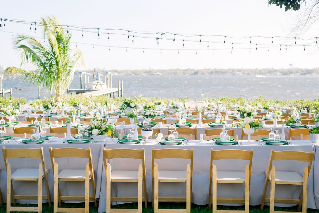 Kelly Kennedy Weddings - Green Table