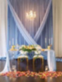 Kelly Kennedy Weddings - The Orlo Blue Drapery