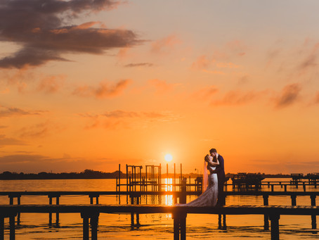 Backyard Wedding on the Water -    Natalie + Sean