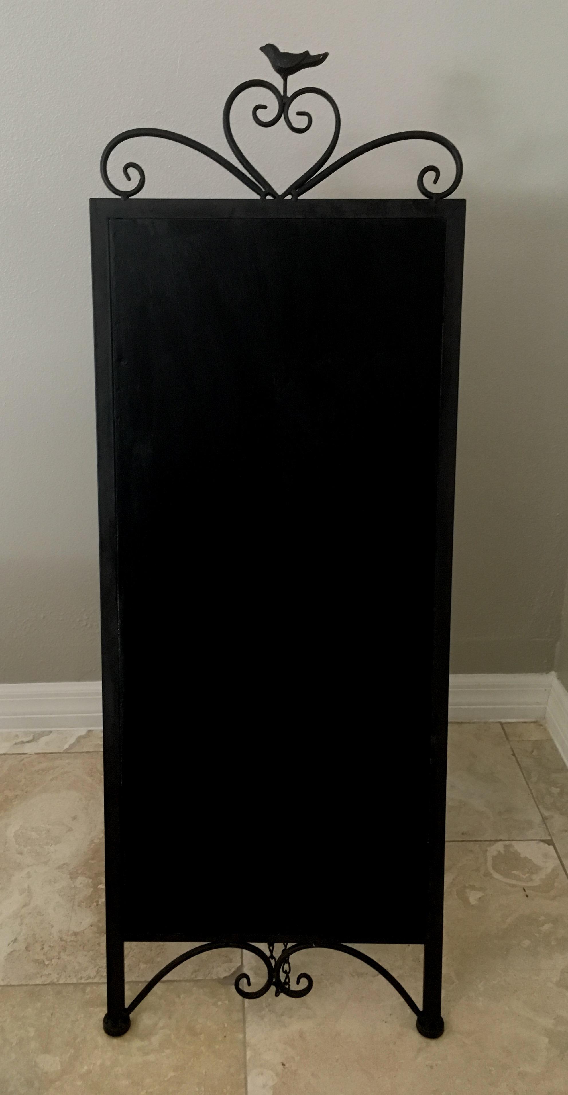 Blank Chalkboard Sign - $15
