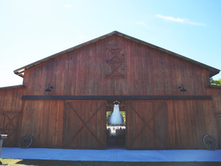 The Hunt is Over - Rustic Barn Wedding