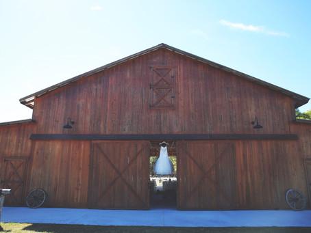 The Hunt is Over - Rustic Barn Wedding