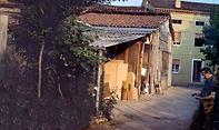 La falegnameria Mencato Gregorio a Malo a Vicenza negli anni 50