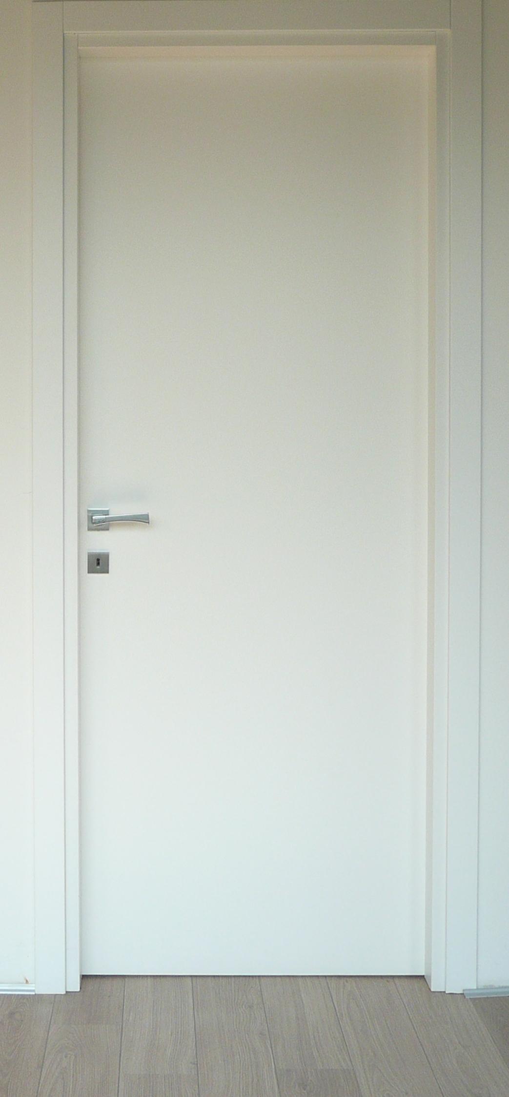 Porta laccata bianca