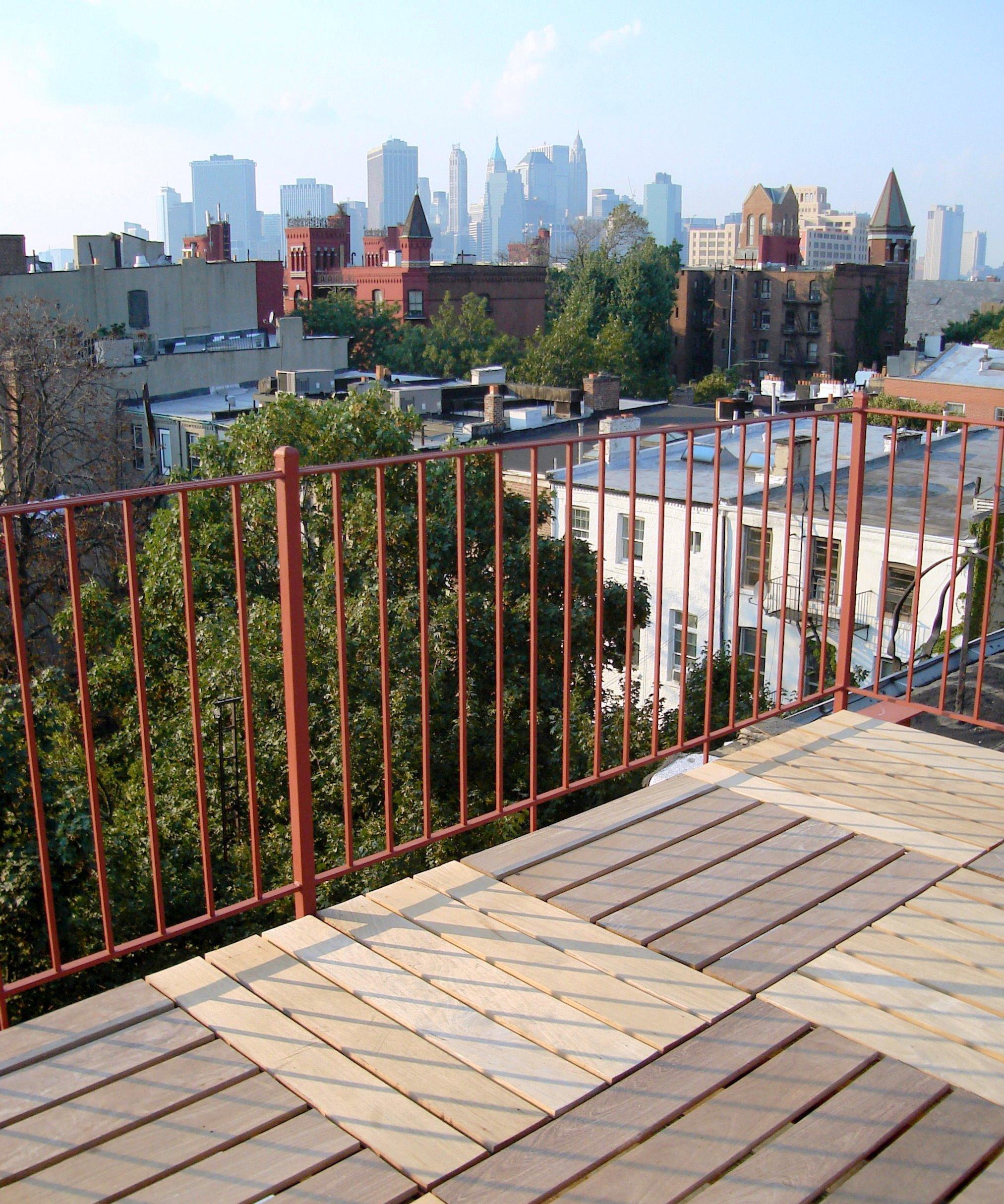 Henry St Bkln ipe roof deck